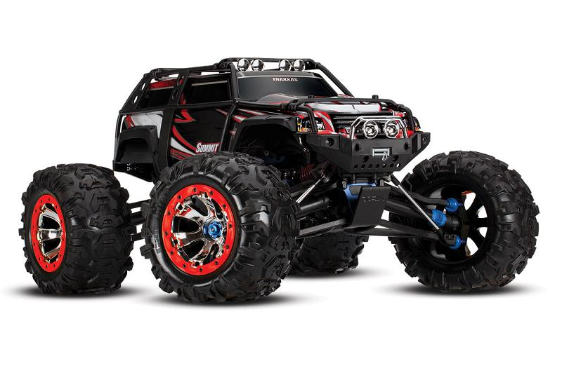 TRAXXAS	Summit 1/10 4WD RTR (ready to Bluetooth module) + NEW Fast Charger