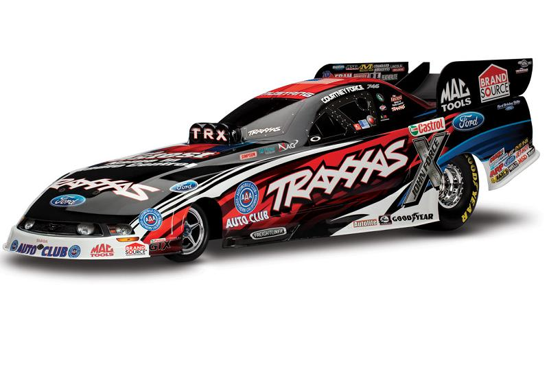 TRAXXAS	Funny Car NHRA Brushless 2WD 1/8 RTR