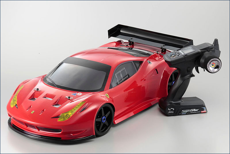 KYOSHO	1/8 EP 4WD Inferno GT2 VE RS Ferrari 458 RTR