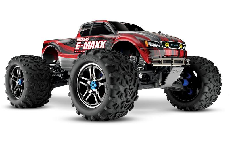 TRAXXAS	E-Maxx Brushless MXL 4WD 1/10 RTR (with Bluetooth module and telemetry) + NEW Fast Charger