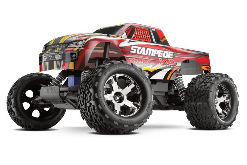 TRAXXAS	Stampede VXL Brushless 2WD 1/10 RTR