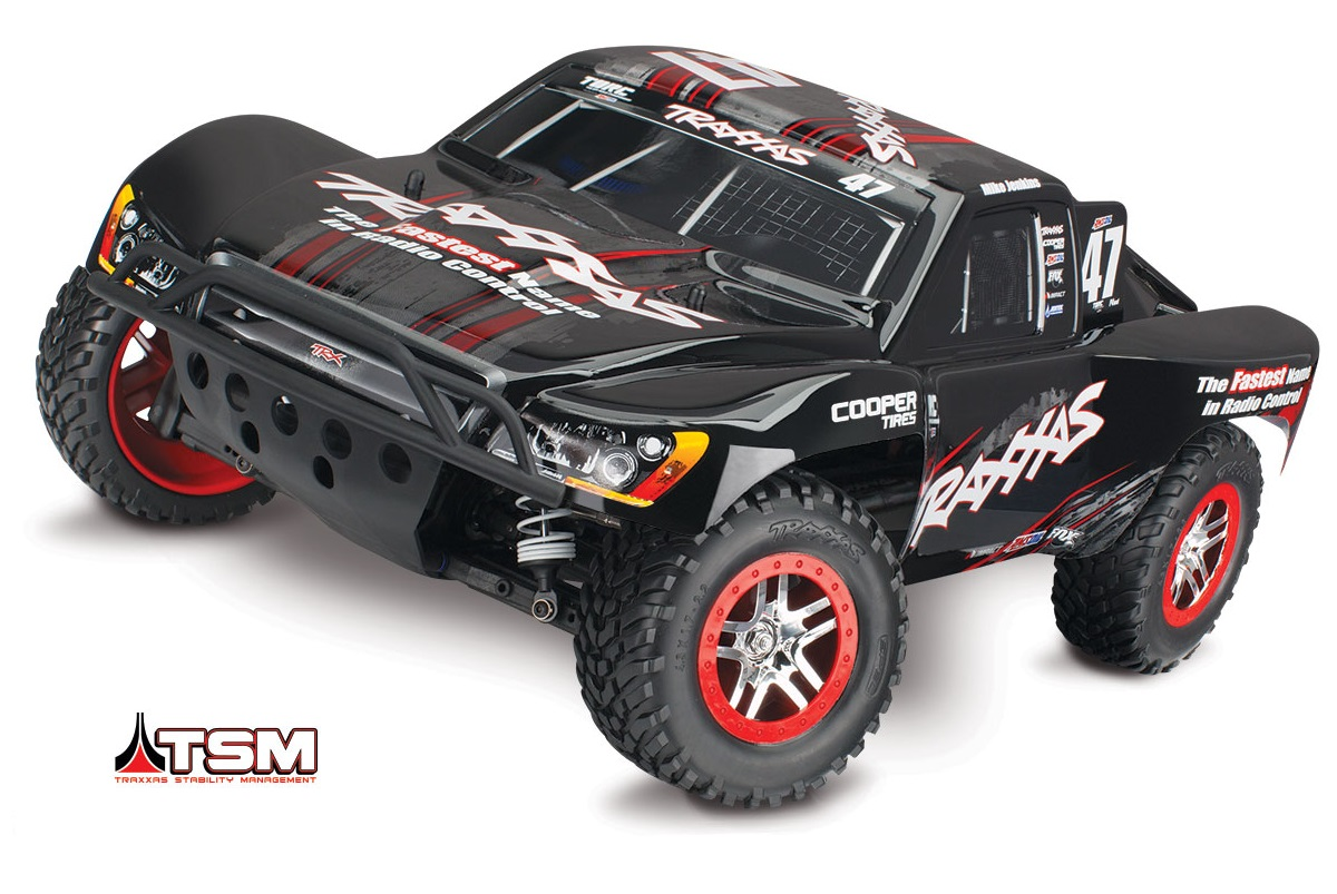 TRAXXAS	Slash 4x4 Ultimate VXL Brushless 1/10 RTR с системой стабилизации + NEW Fast Charger