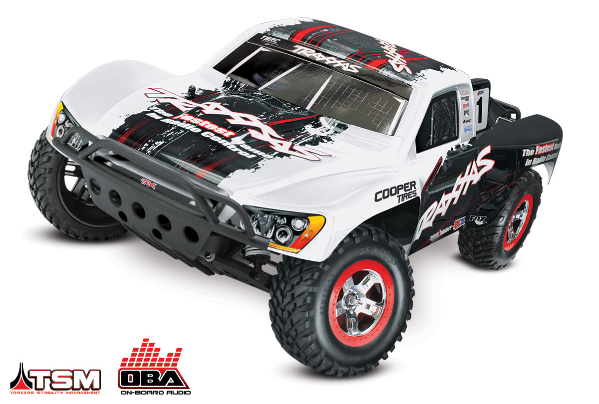 TRAXXAS	Slash 2WD VXL Brushless 1/10 RTR OBA с системой стабилизации + NEW Fast Charger