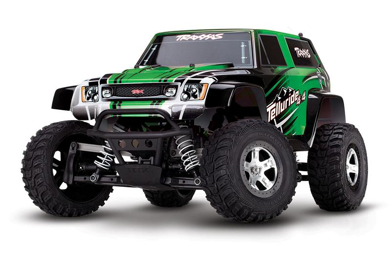 TRAXXAS	Telluride 4x4 1/10 RTR + NEW Fast Charger